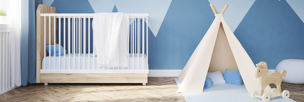 Photo wallpaper for the baby rooms