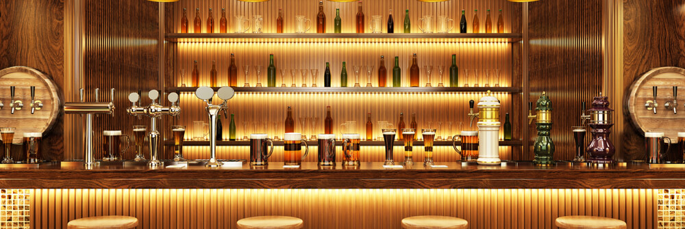 Photo wallpaper for hospitality industry
