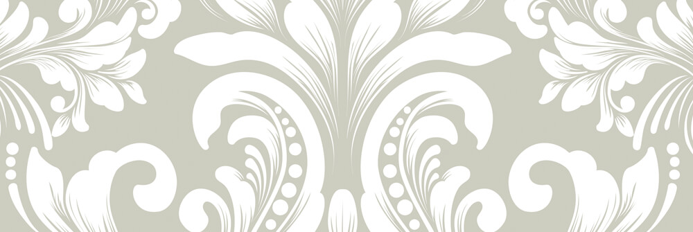 Baroque wallpaper with a pattern
