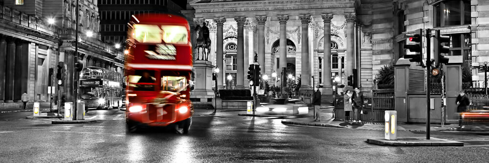 Photo wallpaper with buses