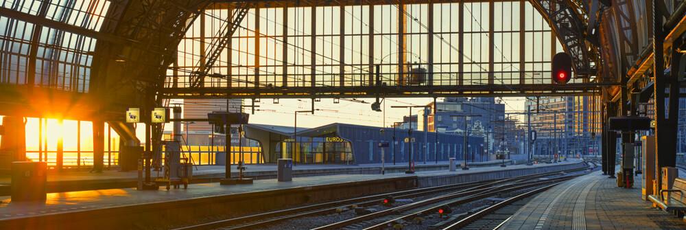 Industrial buildings on Wallpaper