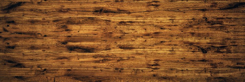 Photo wood effect wallpaper