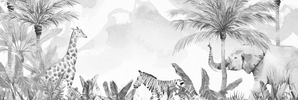 Jungle Wallpaper for kids