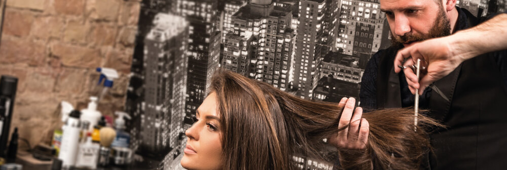 Photo wallpaper for salons