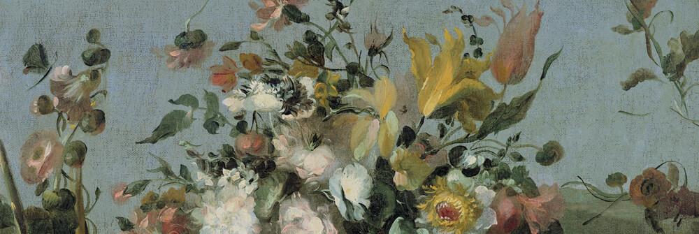 Still life & floral wallpaper