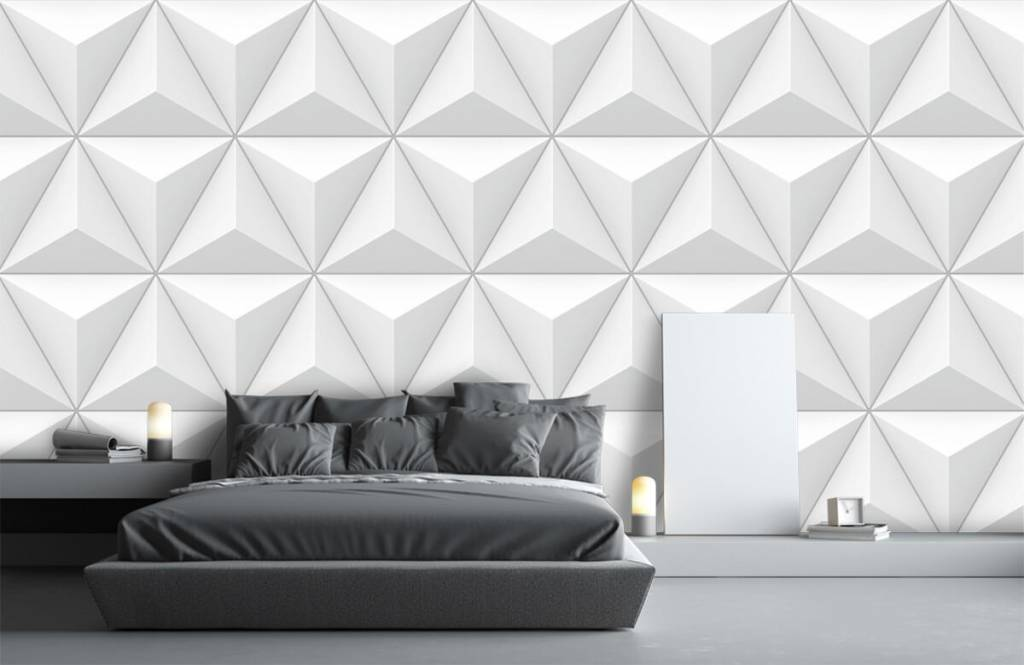 Other Textures & Surfaces - Triangles in 3D - Conference room 2