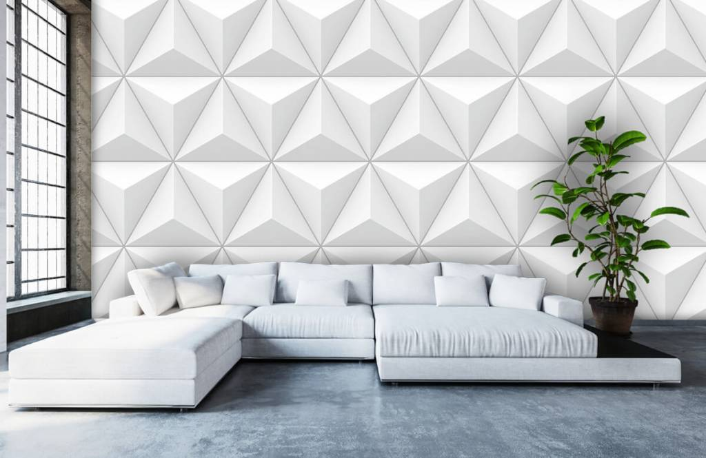 Other Textures & Surfaces - Triangles in 3D - Conference room 5