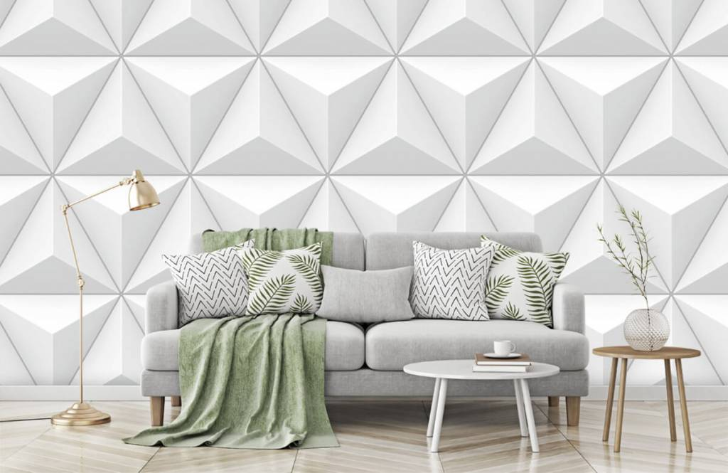 Other Textures & Surfaces - Triangles in 3D - Conference room 7
