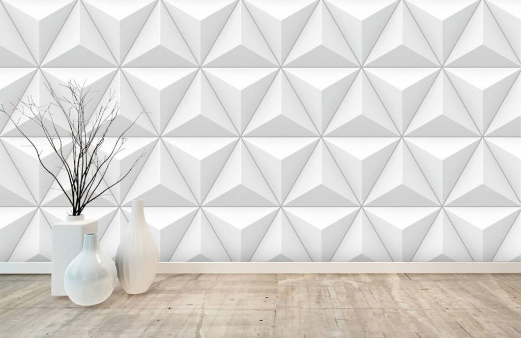 Other Textures & Surfaces - Triangles in 3D - Conference room 8