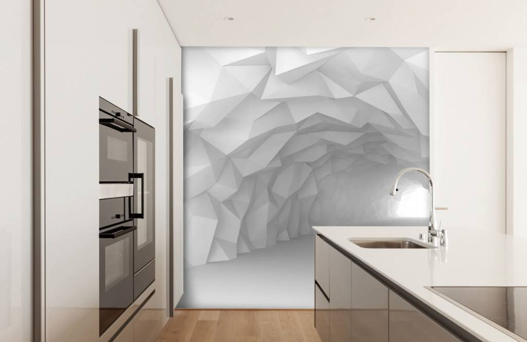 Other - Pointed tunnel in 3D - Teenage room 1