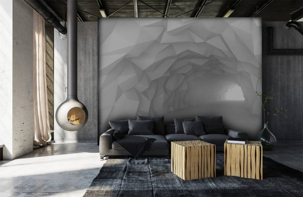 Other - Pointed tunnel in 3D - Teenage room 6