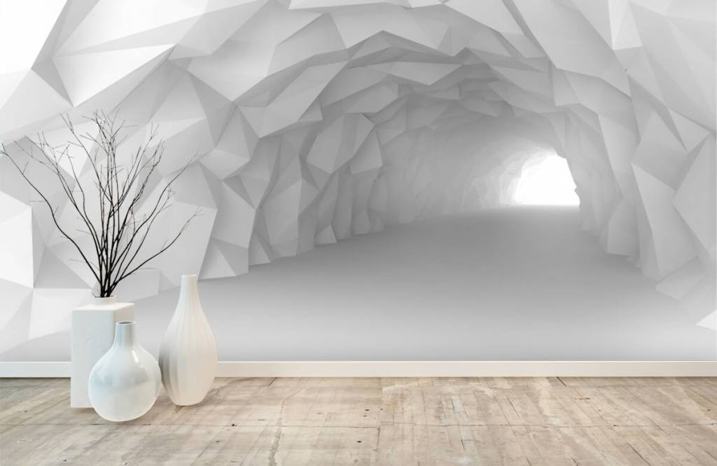 Other - Pointed tunnel in 3D - Teenage room 8