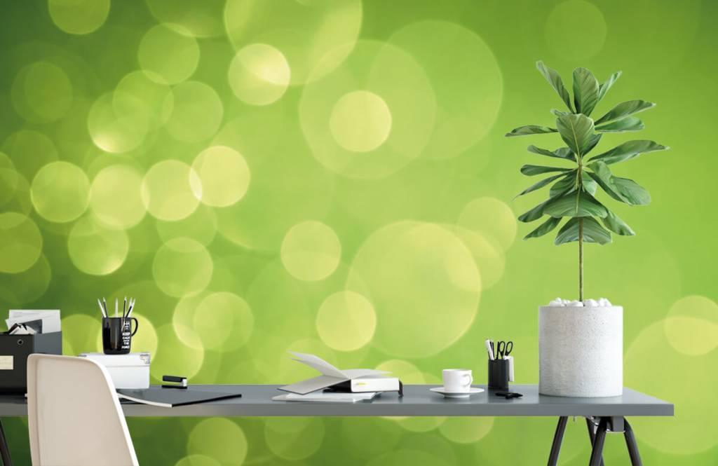 Abstract - Abstract green circles - Reception 2