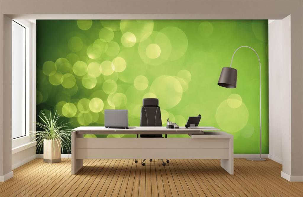Abstract - Abstract green circles - Reception 3