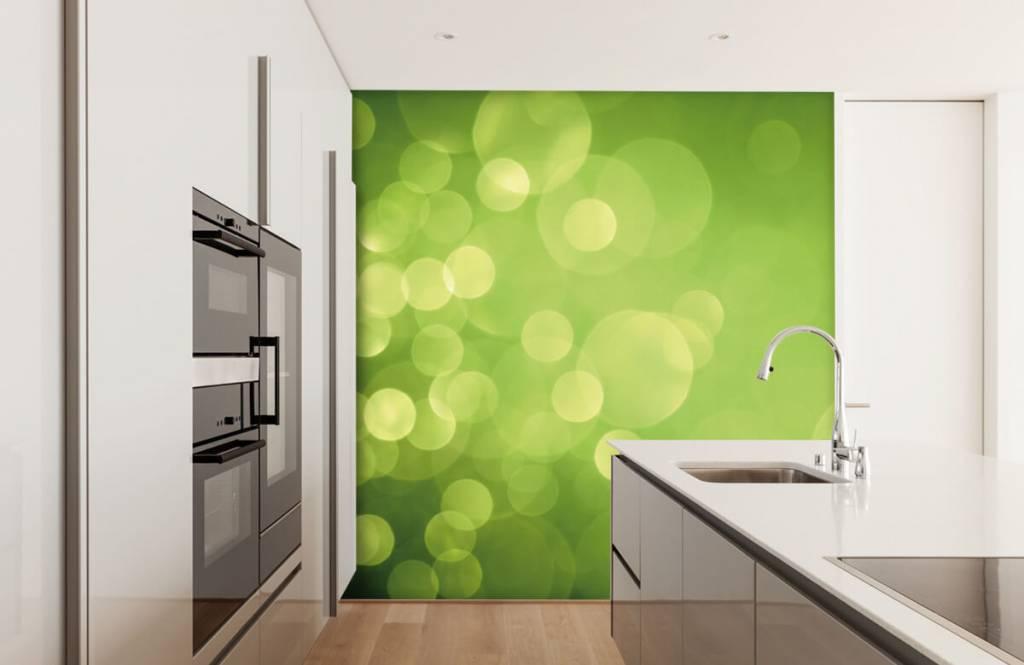Abstract - Abstract green circles - Reception 4