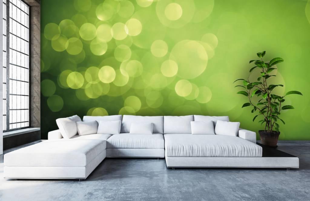 Abstract - Abstract green circles - Reception 5