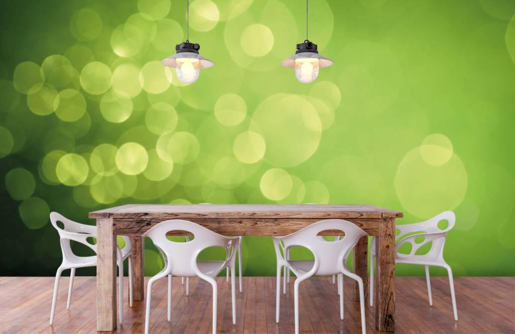 Abstract - Abstract green circles - Reception 6