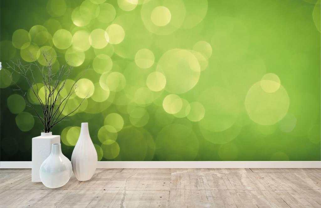 Abstract - Abstract green circles - Reception 7