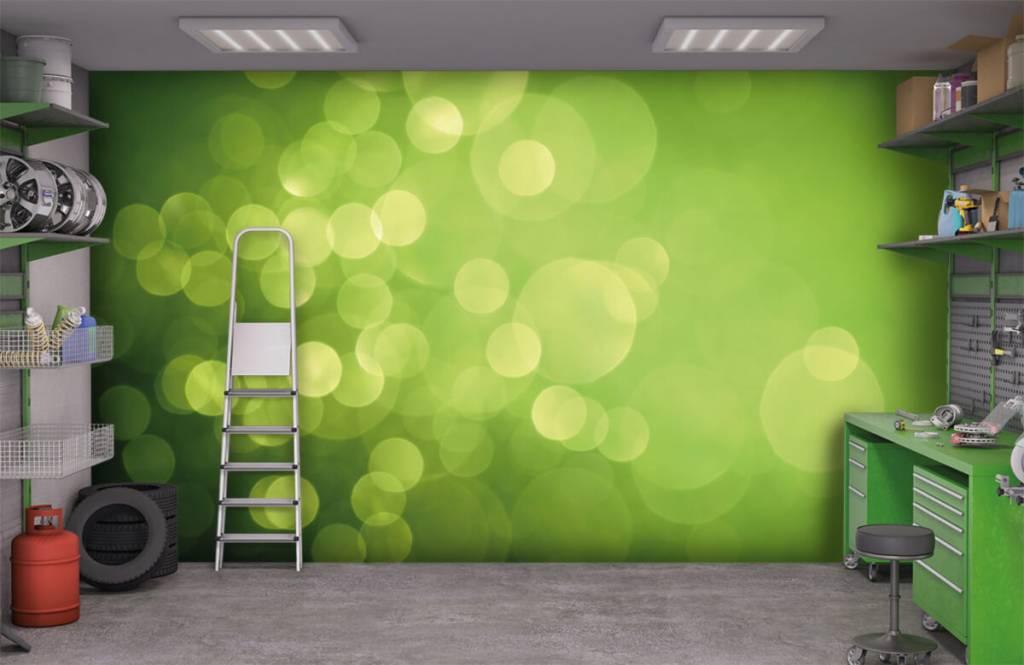 Abstract - Abstract green circles - Reception 9