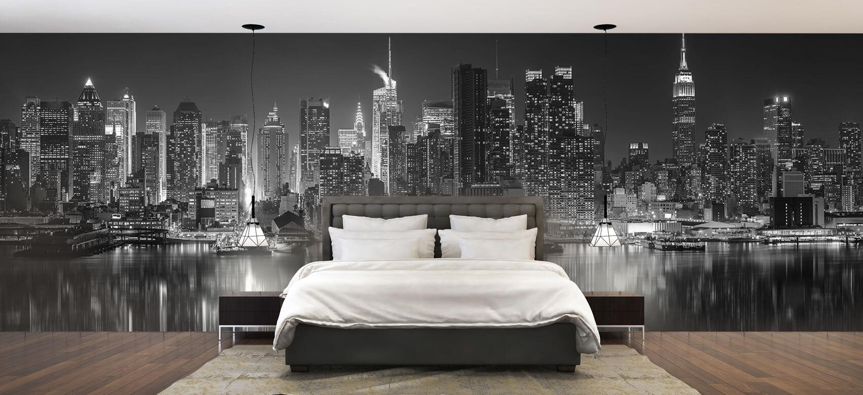 World & Cities Photo wallpaper New York skyline at night 2