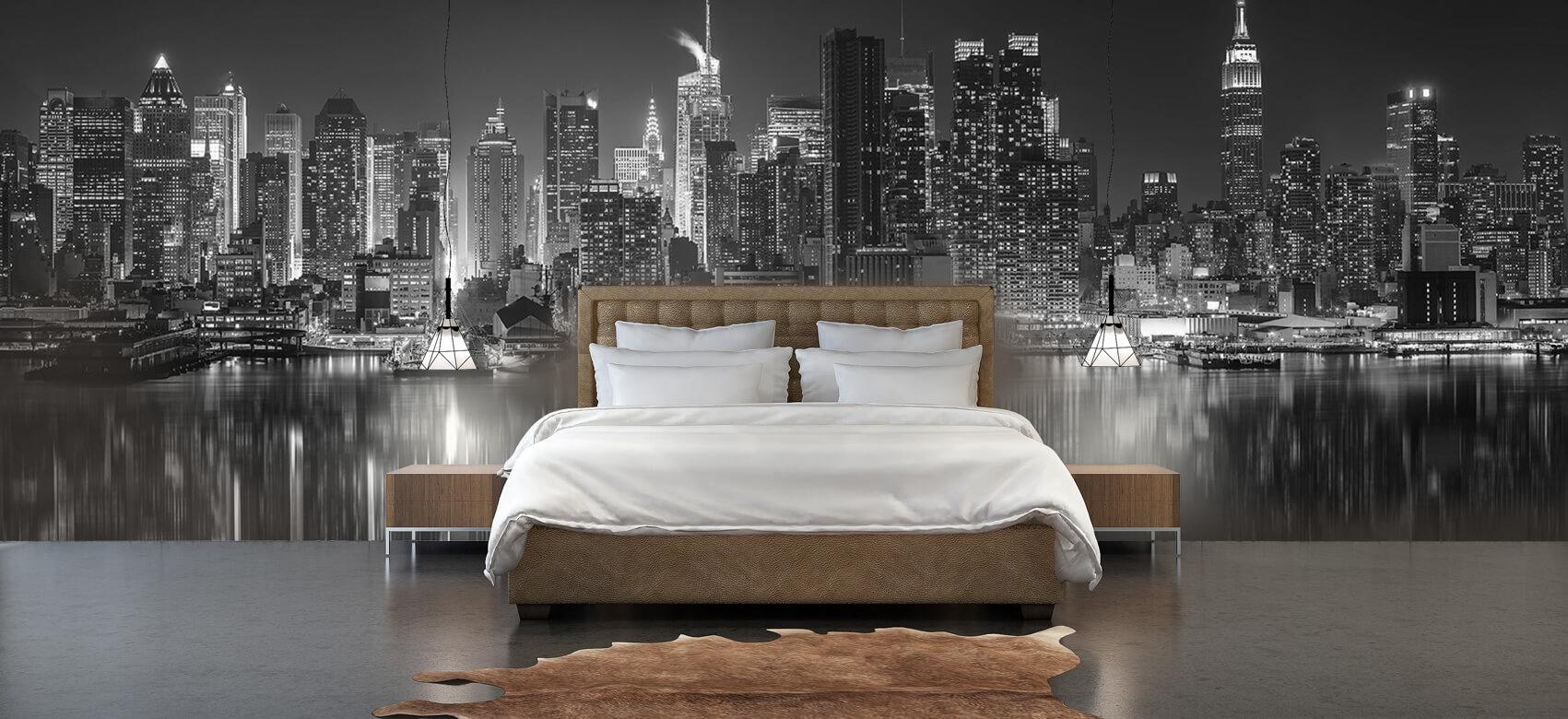 World & Cities Photo wallpaper New York skyline at night 4