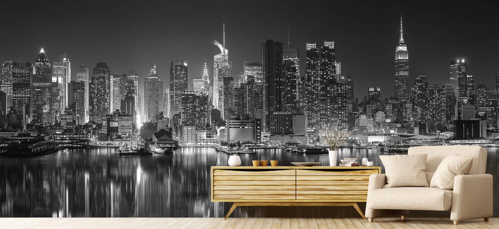 World & Cities Photo wallpaper New York skyline at night 7