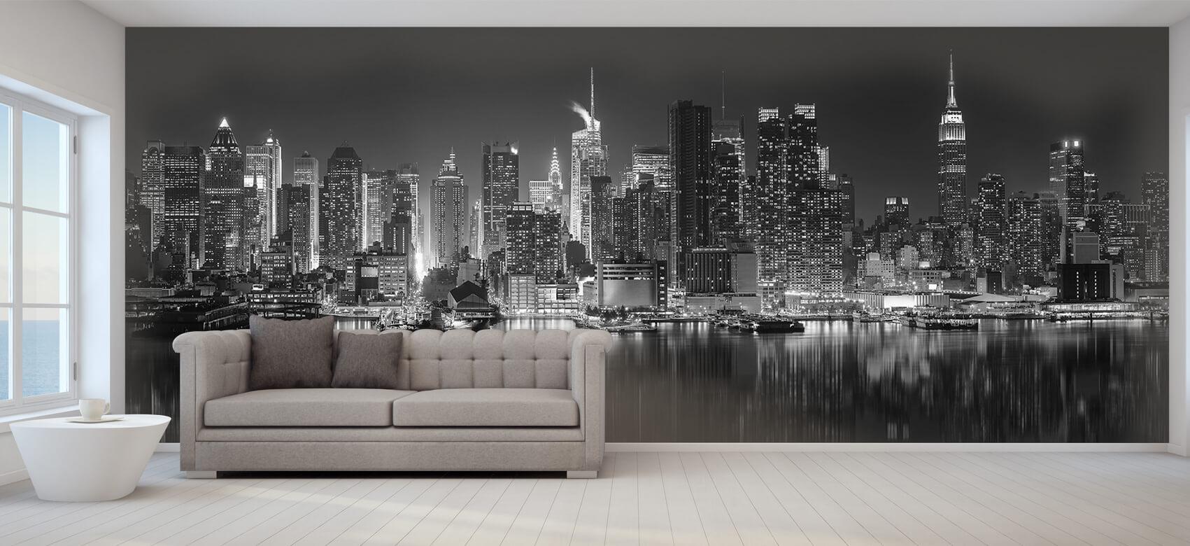 World & Cities Photo wallpaper New York skyline at night 9