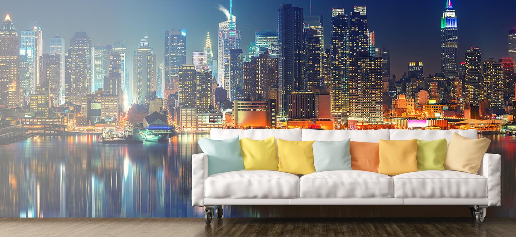 World & Cities Photo wallpaper New York skyline at night 10