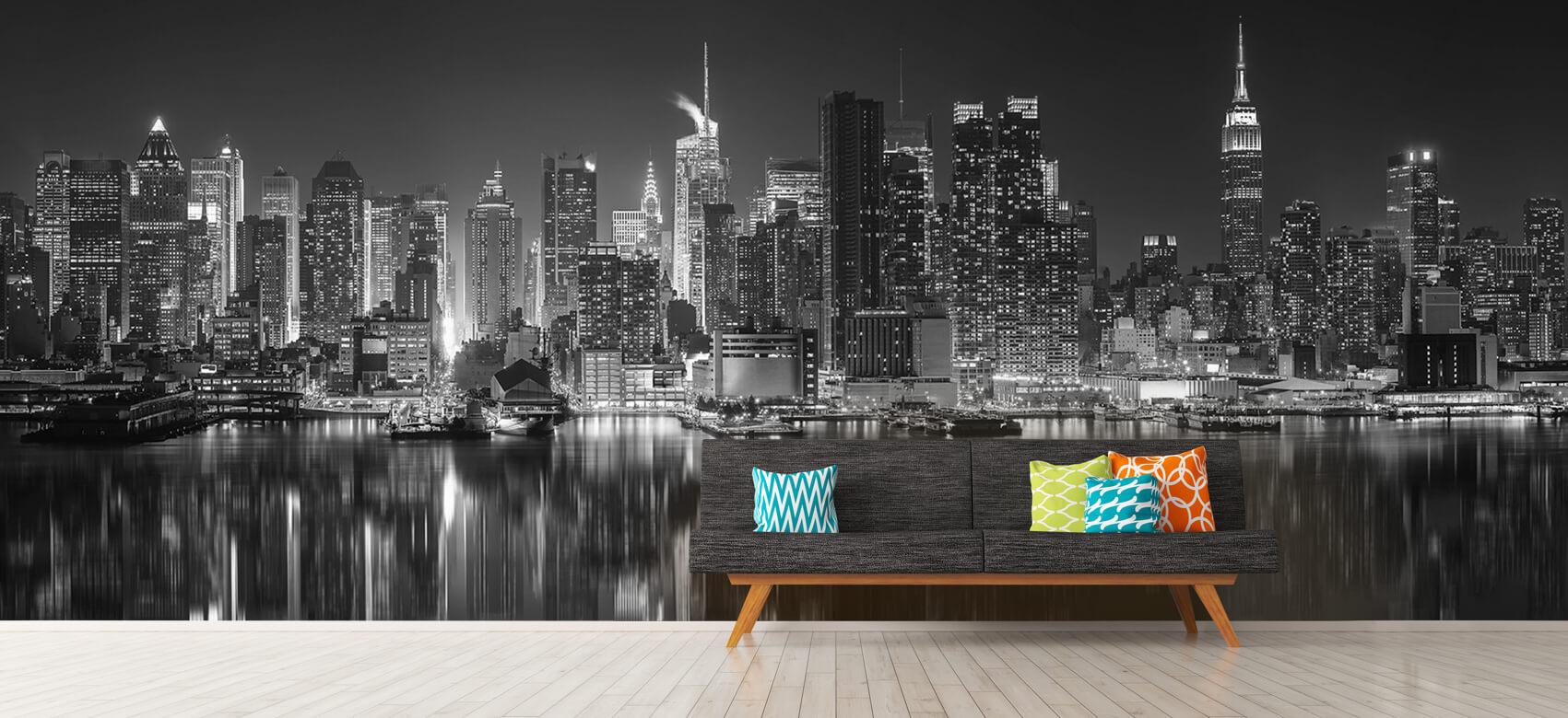 World & Cities Photo wallpaper New York skyline at night 13