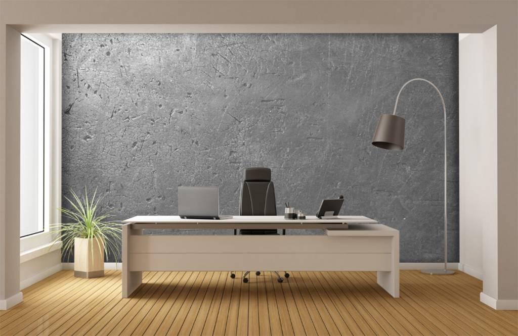 Concrete look wallpaper - Grey concrete wall - Teenage room 3