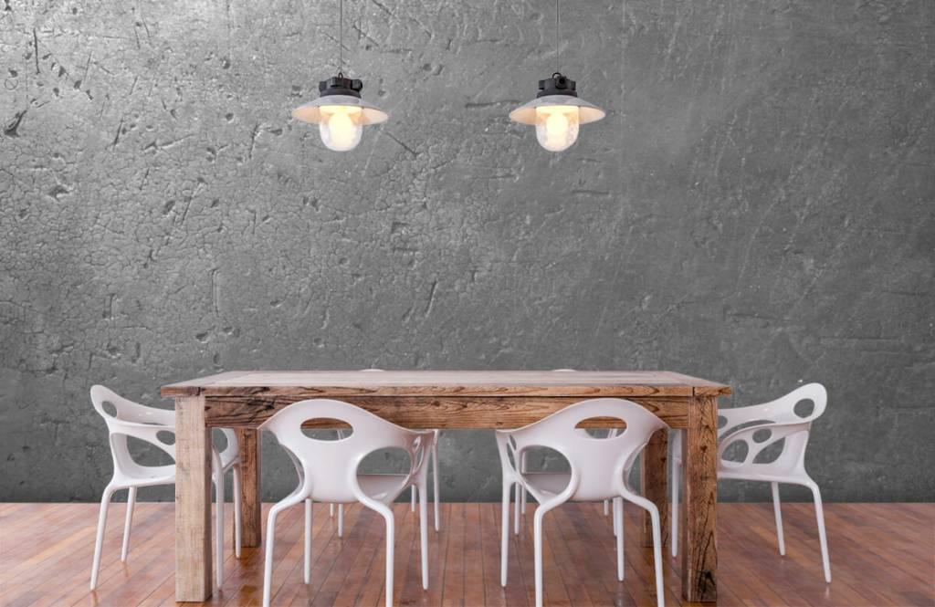 Concrete look wallpaper - Grey concrete wall - Teenage room 6