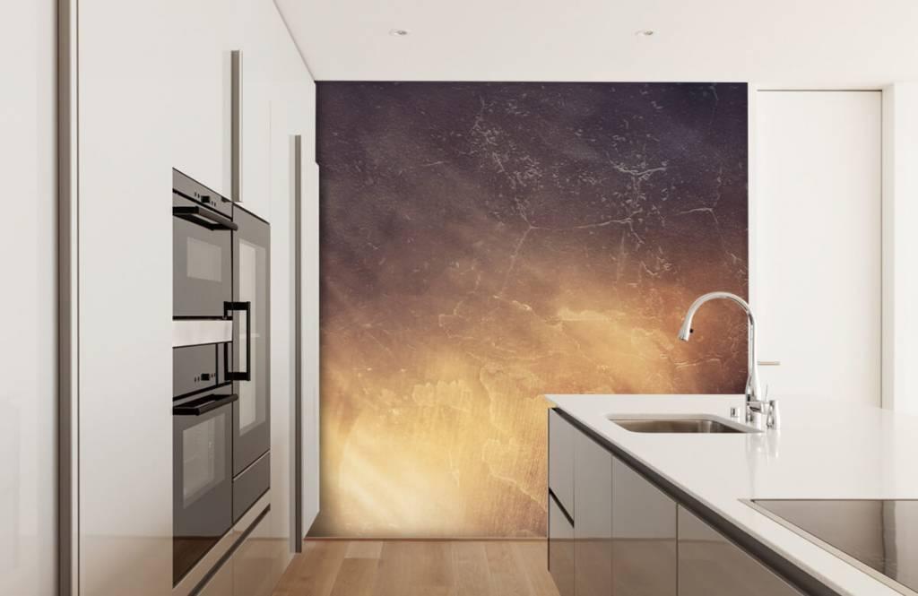 Stone wallpaper - Sunbeams - Management 4