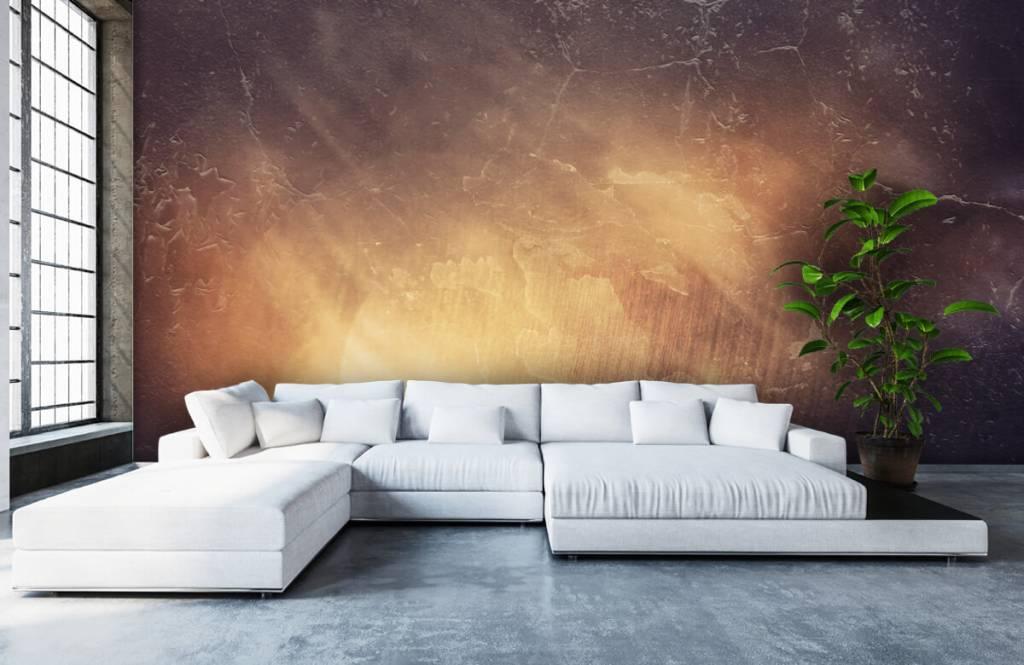Stone wallpaper - Sunbeams - Management 6
