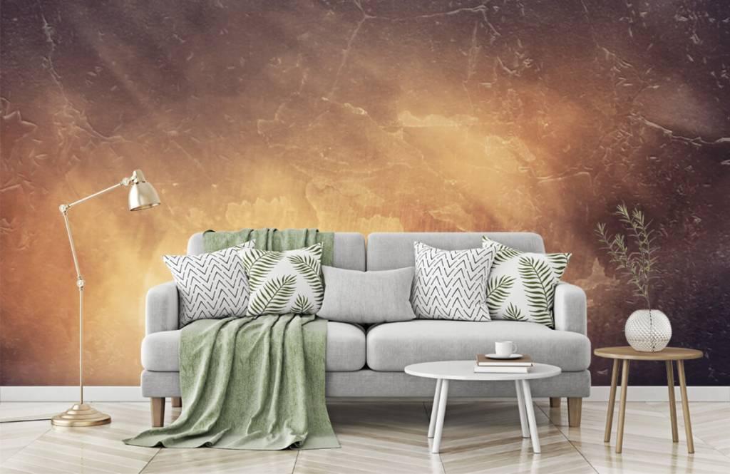 Stone wallpaper - Sunbeams - Management 7