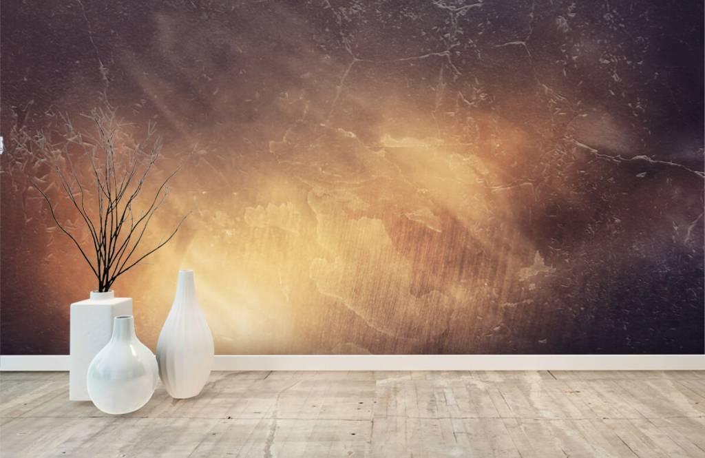Stone wallpaper - Sunbeams - Management 8