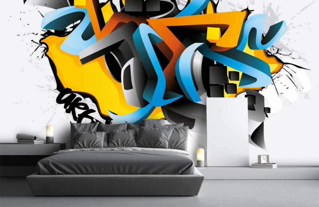 Graffiti - 3D graffiti - Teenage room 3