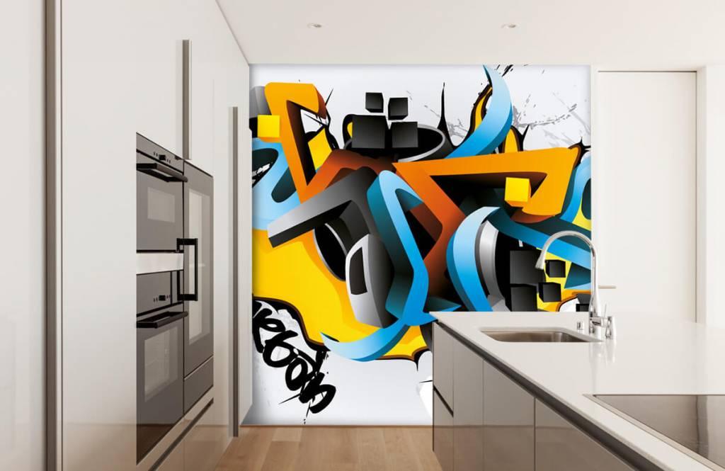 Graffiti - 3D graffiti - Teenage room 4