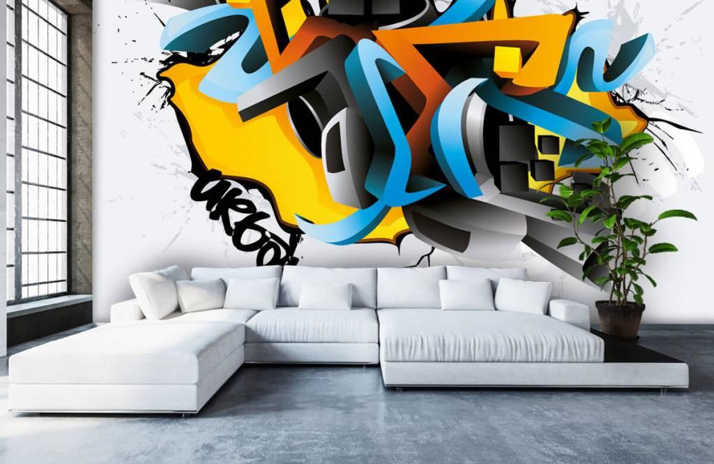 Graffiti - 3D graffiti - Teenage room 5
