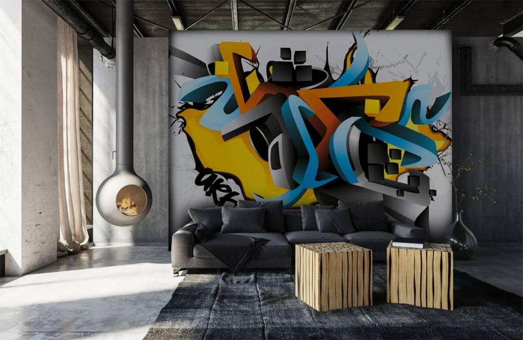 Graffiti - 3D graffiti - Teenage room 6