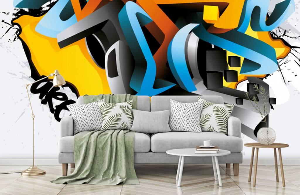 Graffiti - 3D graffiti - Teenage room 7