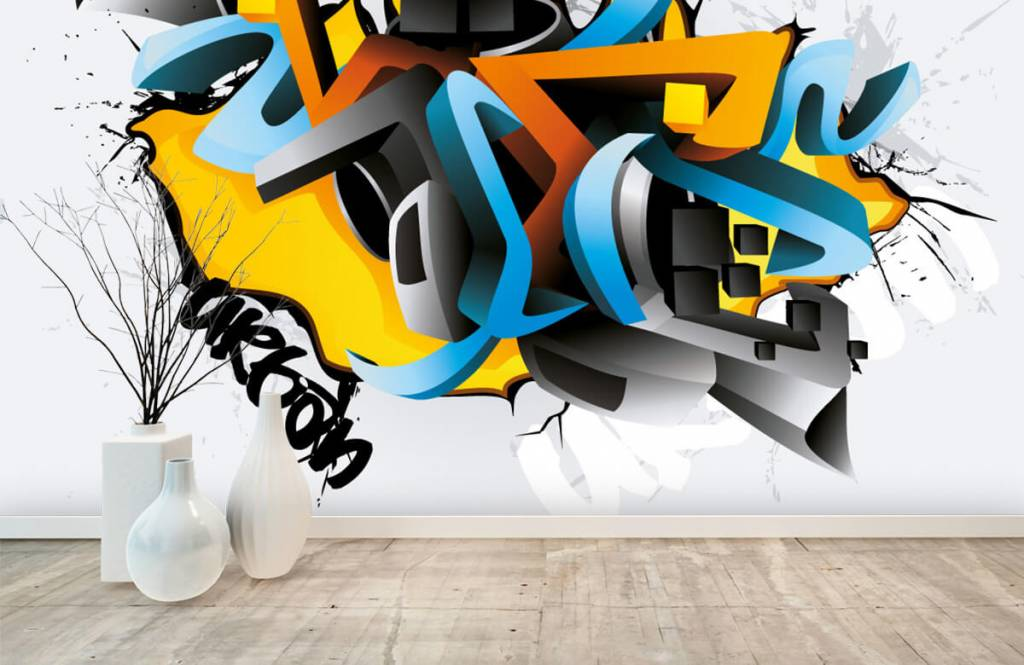 Graffiti - 3D graffiti - Teenage room 8