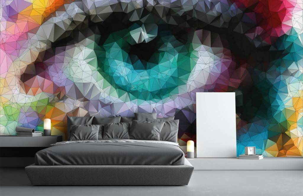 Portets and faces - Abstract eye - Hobby room 1