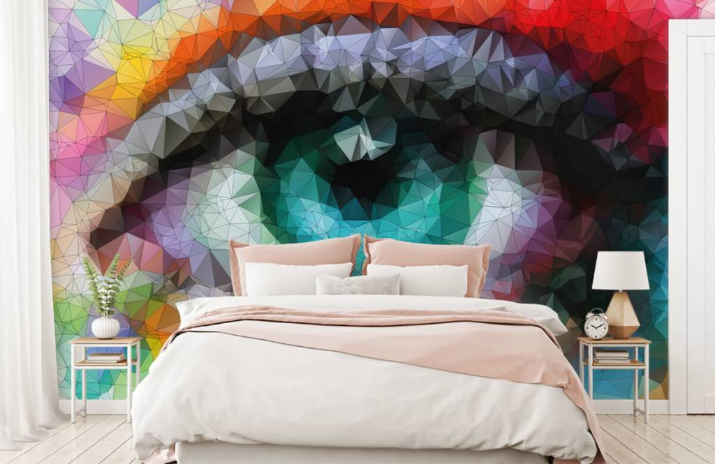 Portets and faces - Abstract eye - Hobby room 2