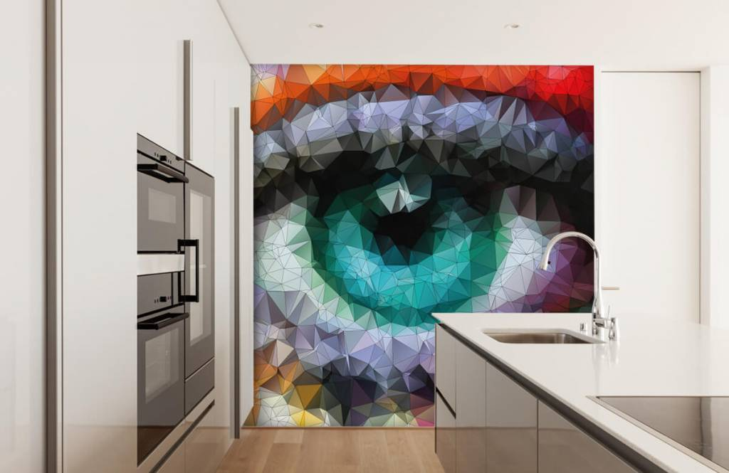 Portets and faces - Abstract eye - Hobby room 3