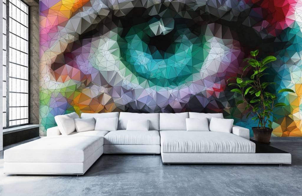 Portets and faces - Abstract eye - Hobby room 5