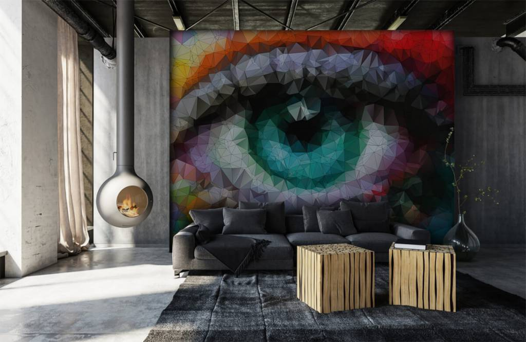 Portets and faces - Abstract eye - Hobby room 6
