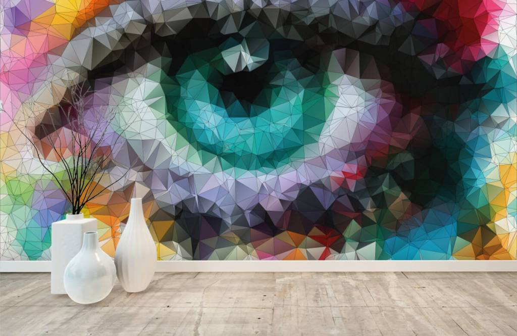 Portets and faces - Abstract eye - Hobby room 8