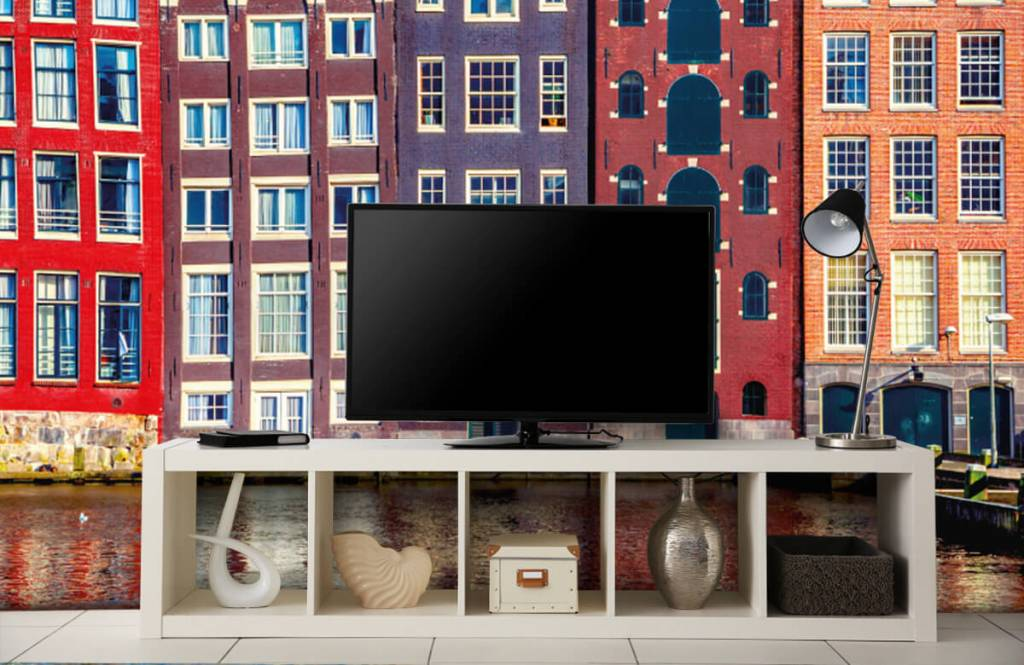 Cities wallpaper - Amsterdam houses - Bedroom 5