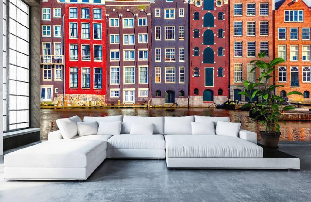 Cities wallpaper - Amsterdam houses - Bedroom 6
