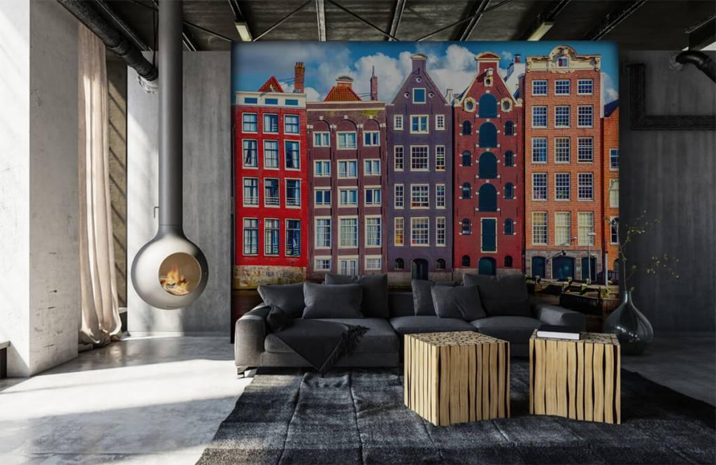 Cities wallpaper - Amsterdam houses - Bedroom 7
